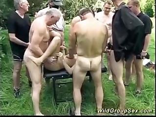german outdoor orgy