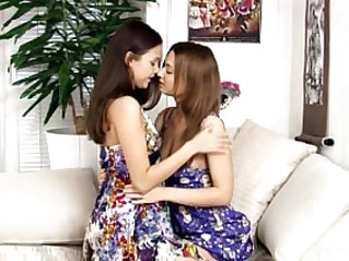 Fingering Climaxers by Sapphic Erotica sensual lesbian sex with Lidia Dulce