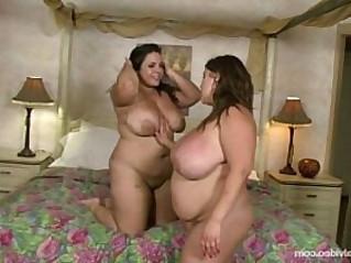 BBW Lesbians Kacey Parker N Jane Kush Lick her Pussy