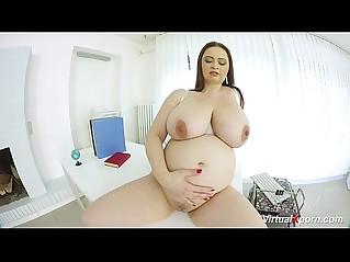 preggo bbw babe masturbating