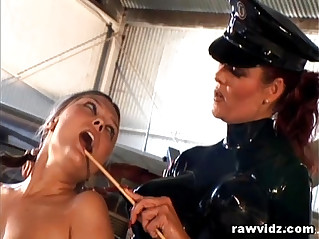 Mistress Aracadia And Vanessa Lynn Strap On Lesbian Fuck