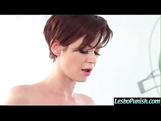 Teen Hot Cute Girl Emily Addison Violet Starr Get Punished By Mean Lez video