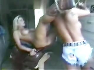 Sally Layd Butt Fucks JR Carrington