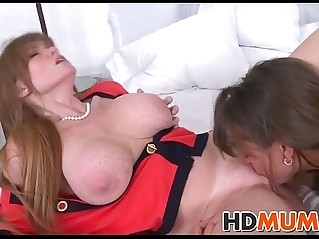 BF fucks GF and her Mom