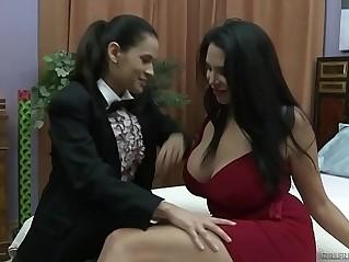 Missy Martinez and Father Vanessa Veracruz