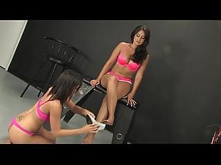 Lesbian Foot Domination by Miss Selena