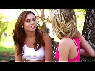Petite Teens Ariana Marie and Kota Sky Lesbian Affair