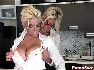 Euro babe puma swede fucks the office with slut bobbi eden