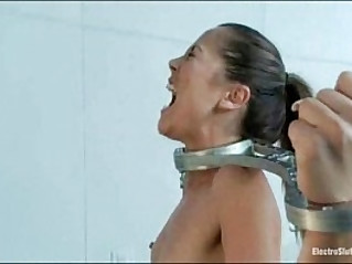 FemDom pussy and ass electrical penetration